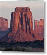 Monument Valley Sunrise 7288 Metal Print