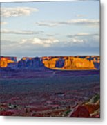 Monument Valley Sunset Two Metal Print