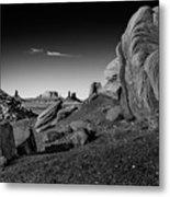 Monument Valley Rock Formations Metal Print