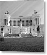 Monumental Architecture In Rome Metal Print