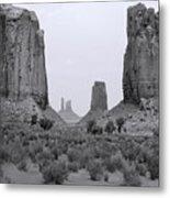Monumentvalley 34 Metal Print