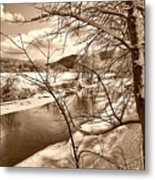 Mood Of Winter Metal Print