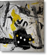 Moods Yellow Let It All Hang Out Metal Print