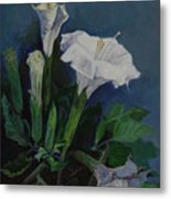 Moon Flower  Metal Print