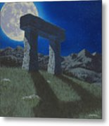 Moon Gate Metal Print