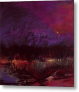 Moon Glow 5-6-11 Julianne Felton Metal Print