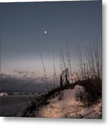 Moon Meets The Sun  Metal Print