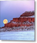 Moon Of The Popping Trees Metal Print