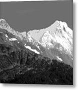 Moon Over Alaska Metal Print