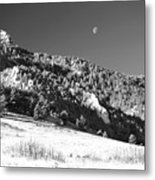 Moon Over Chatauqua 2 Metal Print