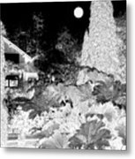 Moon Over Stanley Park Metal Print by Will Borden