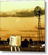 Moon Over Troubled Waters Metal Print