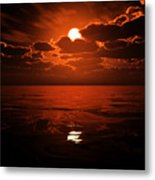 Moon Water  Metal Print
