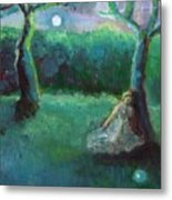 Moonbeam Metal Print