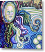 Moonfruit Metal Print