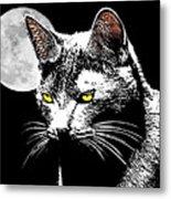 Moonlight Grays Metal Print