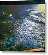 Moonlight On The Mississippi Metal Print