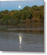 Moonlight On The Rio Grande Metal Print