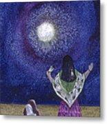 Moonlight Prayer Metal Print