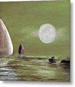 Moonlight Sailnata 2 Metal Print