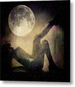 Moonlight Tanning V3 Metal Print