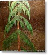 Moonlit Cedar  Metal Print