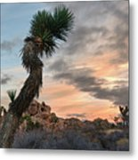 Moonrise At Mindless Mound Metal Print