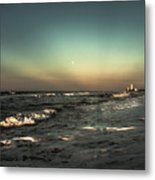Moons Glow  Metal Print by Kim Loftis