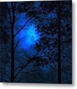 Moonshine 03 Bad Moon Rising Metal Print