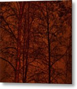 Moonshine 11 Red Sky Metal Print