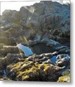 Moonstone Rock Metal Print