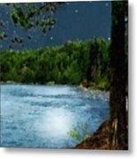 Moonstruck 'my Starry Night' Metal Print