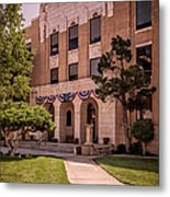 Moore County Courthouse Metal Print