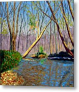 Mooresville November Metal Print