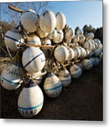 Mooring Balls, South Freeport Metal Print