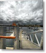 Moorings Metal Print