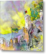 Moorish Castle In Sintra 01 Metal Print