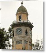 Moorish Clock Tower In Guayaquil Metal Print