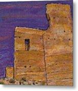 Moorish Fort In Jumilla Metal Print