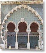 Moorish Fountain Of Sintra Metal Print