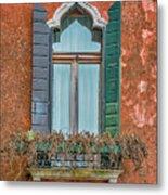 Moorish Window And Texture Venice_dsc5350_03052017 Metal Print