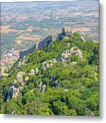 Moors Castle Aerial Metal Print