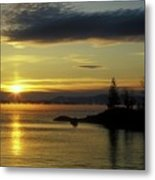 Moosehead Lake Sunrise Metal Print