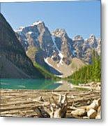 Moraine Lake - Canadian Rockies Metal Print