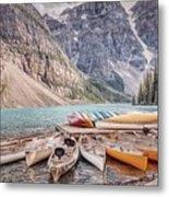 Moraine Lake Transportation  Metal Print