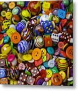More Beautiful Marbles Metal Print