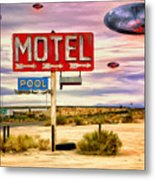 More Bloody Tourists Metal Print