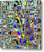 More Colors Abstract Metal Print