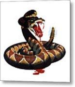 More Dangerous Than A Rattlesnake - Ww2 Metal Print