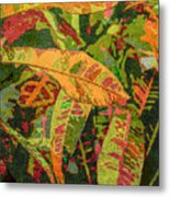 More Fern Abstraction Metal Print